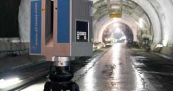Terrestrisches 3D-Laserscanning: DIN gerechte Dokumentationen in der Industrie. Hier: Zoller + Fröhlich 5006h Laserscanner.