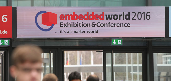 Die embedded world 2015