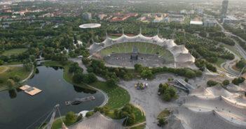 Hightech auf dem Olympiaturm in München