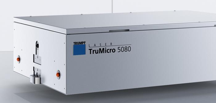 Femtosekundenlaser TruMicro 5080 von Trumpf