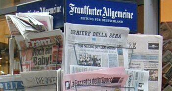 Zeitungen: von 5 großen Tageszeitungen und deren Zukunft