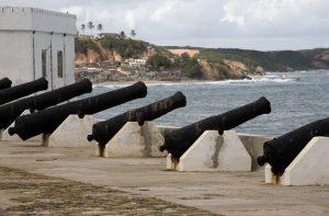 """Cape-Coast-Festung in Ghana, der früheren britischen Kolonie """"Golden-Coast"""" (#2)"""