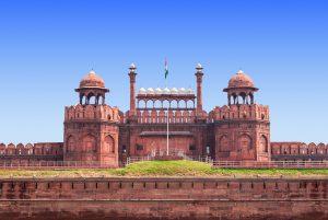 Das Rote Fort in Delhi (#1)