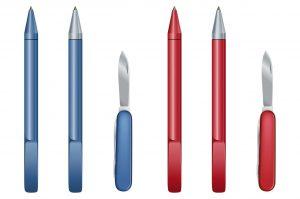 Der Kugelschreiber, ein Klassiker unter den haptischen Werbemitteln. (#1)