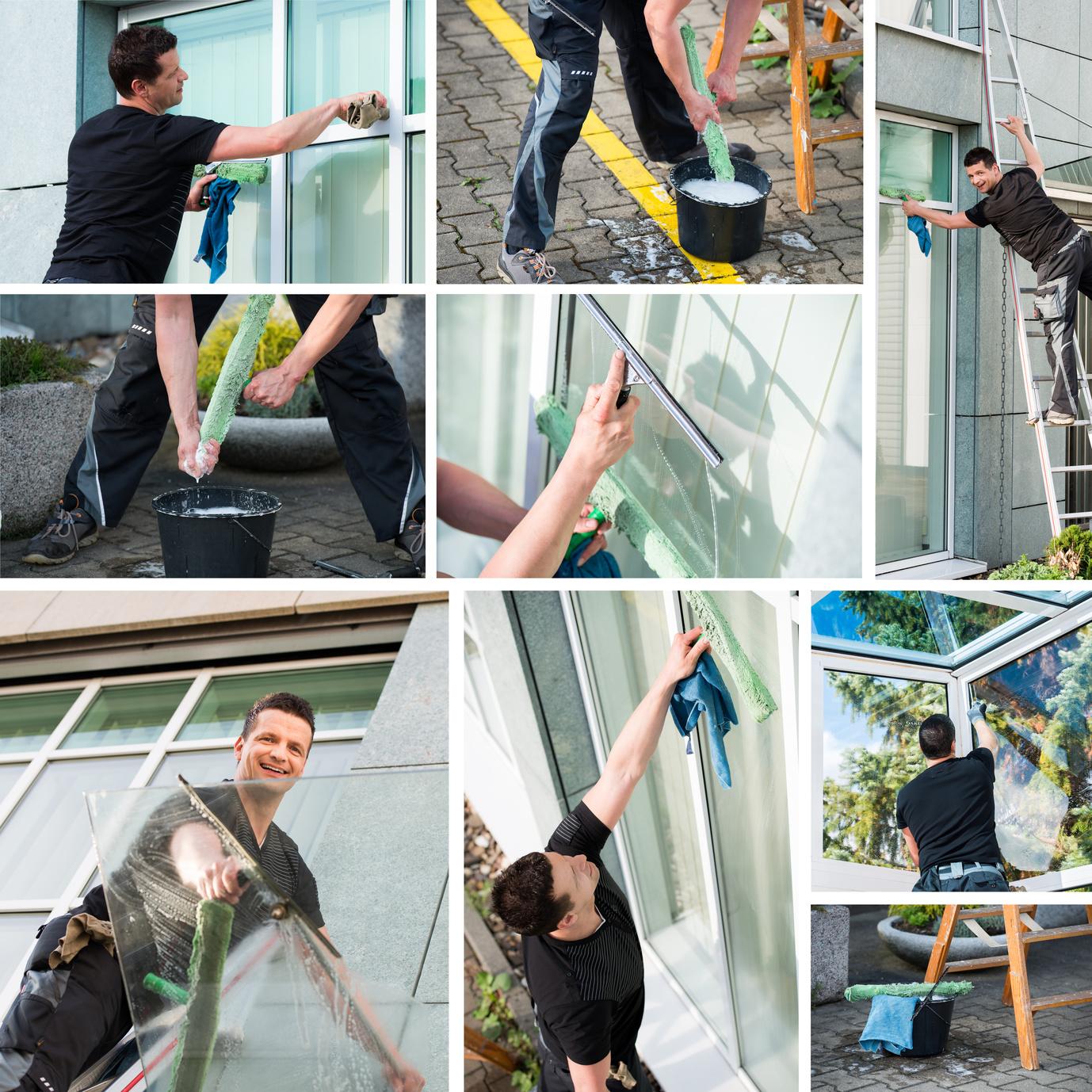 Gebäudereinigungsarbeiten: Was macht der Gebäudereiniger alles? (#01)