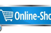 So könnte ein Hinweis auf einen Onlineshop aussehen