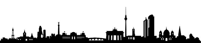Skyline Berlin, auch Berlin gehört zu den Börsenplätzen in Deutschland
