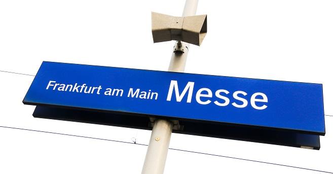 Frankfurter Messe ein sehr großes Arial für viele unterschiedliche Messen