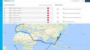 Screenshot der Shipment-Management-Software von FreightHub (#1)