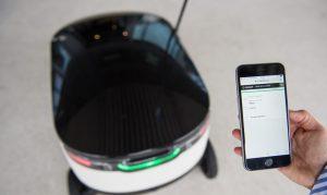 Starship Roboter v. Hermes: Öffnen per Smartphone und das einfache Handling passen zum Zeitgeist. (#2)