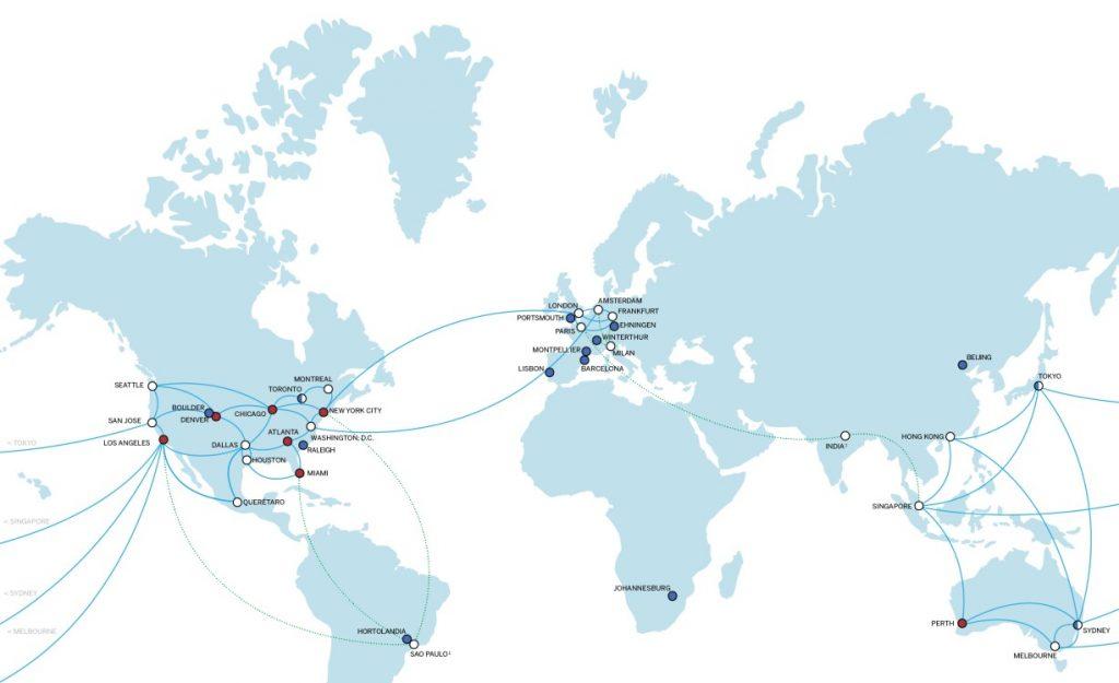 Infografik und Karte: IBM setzt seine Global Cloud Data Center Expansion fort. (#1)