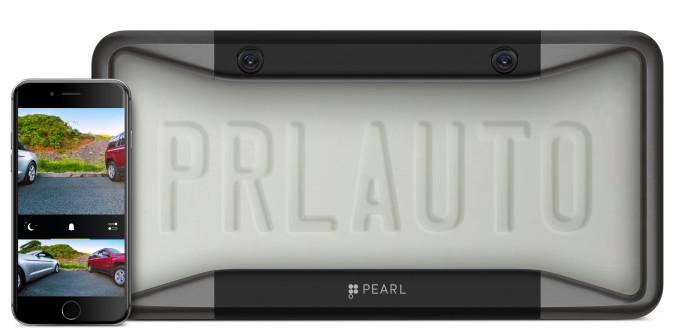 Einfach einzubauendes Rückfahrkamerasystem von Pearl Automation