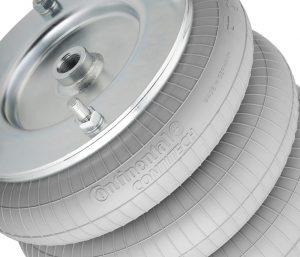 Auch die neuen ContiTech-Balgzylinder für den Einsatz in Pantografen erfüllen die Brandschutznorm EN 45545.