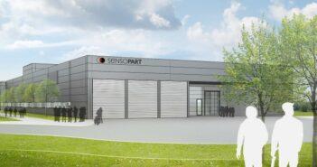 Im August 2017 soll SensoParts neues Produktions- und Logistikgebäude bezugsfertig sein.