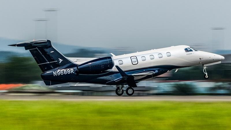 Der Legacy 600 des brasilianischen Flugzeugherstellers Embraer verkaufte sich 2014 18 Mal, allerdings waren die Leichtjets des Modells Embraer Phenom hier gefragter als die größeren Legacy 600 und 650er Modelle und weichen daher ein wenig vom Trend ab. (#05)