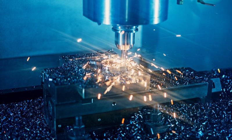 Eine Schnittgeschwindigkeit von 20 bis 300 m/min ist ausreichend, wenn bei der Bearbeitung von Metall keine besondere Oberflächengüte erreicht werden soll. Die Schnittgeschwindigkeit richtet sich nach der Härte des Materials und nach der Feinheit der Fläche, die erzeugt wird. (#02)