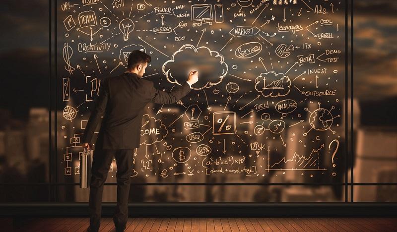 Die Präsentation der Ergebnisse bildet den Abschluss des Prozesses. Aus den Informationen werden erklärende Aussagen formuliert oder Kennzahlen erstellt, die der Problemlösung dienen. (#02)