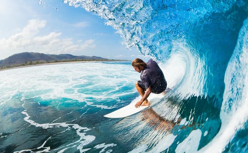 Surfen: Auch ein schönes Adventure Travel Angebot. (#05)