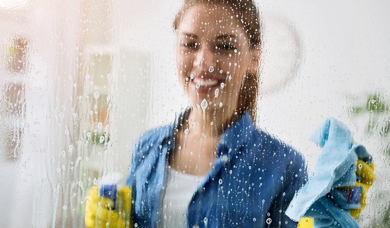 Die Reinigungsbranche: Noch immer ist der Frauenanteil in den Reinigungsunternehmen sehr hoch. (#03)
