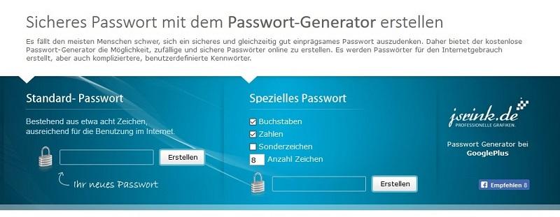 Notebooks fürs Unternehmen: Wenn Sie wollen nutzen Sie einen Passwortgenerator (#10)