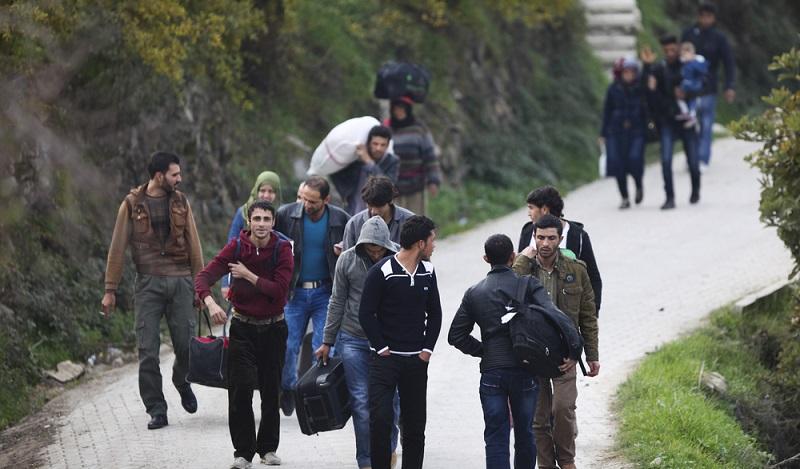 Die wirtschaftlichen Anzeichen weisen darauf hin, dass sich der Welthandel in Zukunft verändert: Die Bewegungen der Flüchtlingsströme weisen auf besondere Schwierigkeiten hin. (#02)