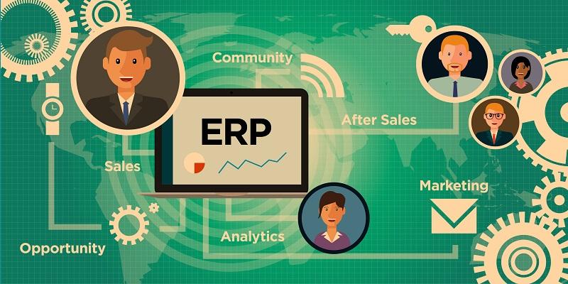 Kundentermine, Aufträge und Absprachen oder Kontaktdaten und Reklamationen können im Detail im ERP-System hinterlegt werden. (#04)