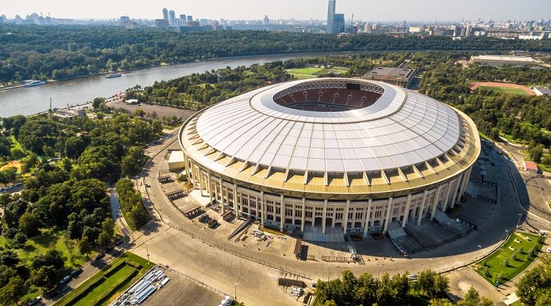 Gastgeber Russland hat den Aus- und Neubau der Sportarenen mit ähnlichem Ehrgeiz betrieben wie seine Vorgänger. (#01)