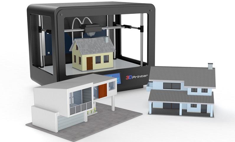 Nicht gedruckt werden natürlich Türen, Fenster und die notwendigen Installationen. Auch ein Dach muss zum Schluss noch auf herkömmliche Weise angebracht werden. (#03)