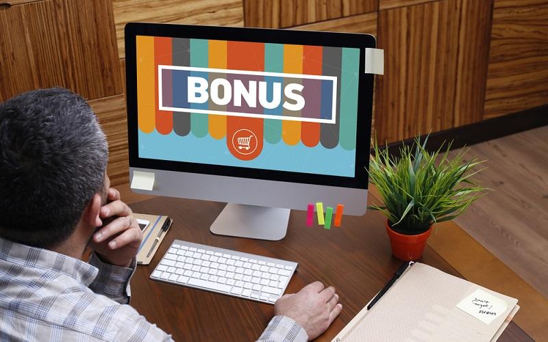 Vorsicht, häufig ist der Bonus an einen bestimmten Umsatz oder einen Mindesteinsatz gebunden. (#3)