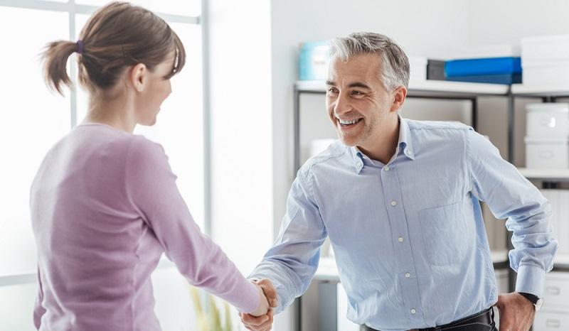 Die Stelle in einem Zeitarbeitsunternehmen kann der Beginn einer späteren Festanstellung werden. (#2)