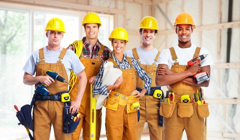 Bei der IG Metall sind Arbeiter diverser Branchen organisiert. (#1)