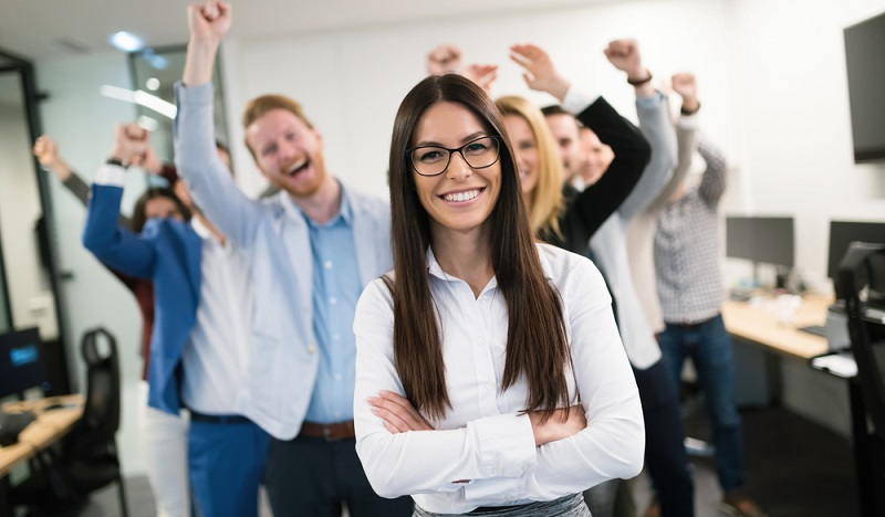 Ein sinnvoller Mix aus Mitarbeitern in den unterschiedlichsten Abteilungen. Auch das ist ein Garant für Zufriedenheit unter den Kollegen. (#2)