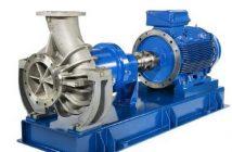 Magnetkupplungspumpen: Fördermengen bis 1.200 m³/h jetzt möglich. Im Bild: die magnetkupplungspumpe MKP-300-250-315 der CP Pumpen AG aus Zofingen