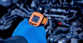Infrarot-Temperatursensor: Temperaturmessung an verschiedenen Oberflächen möglich