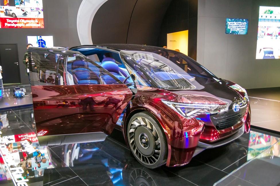 Japan hat die Geschwindigkeit maßgeblich beeinflusst, mit der in China die Automobilindustrie ihren Technologieschwenk ausführt. Im Bild: das Toyota Concept-i concept BEV, FCEV car. (#29