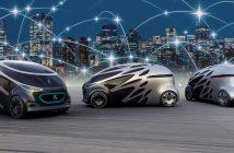 Vision Urbanetic: Autonomes Elektroauto für den Transport von Personen oder Gütern