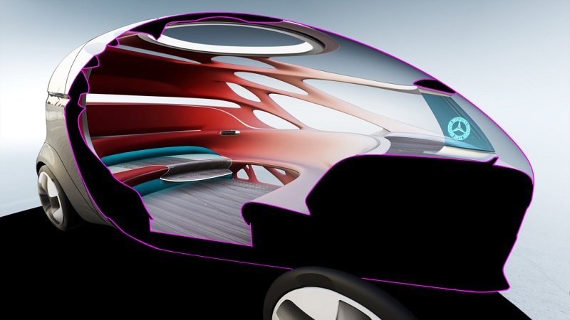 Autonome Fahrzeuge: Der Innenraum ist an einem neuartigen Verkehrskonzept ausgerichtet. (#04)