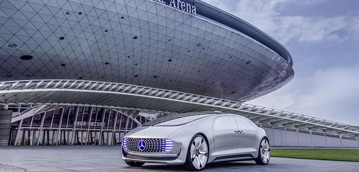 Mercedes F 015: ein Konzeptfahrzeug von Daimler mit herausragender Technik