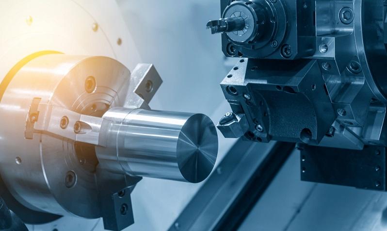 Im Bezug auf die gesamte Industrieleistung spielen Drehteile auf den ersten Blick nur eine untergeordnete Rolle beim Auftragsvolumen. ( Foto: Shutterstock-  Pixel B_)