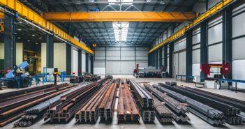 Stahlhallenbau: Vorteile und Möglichkeiten einer Standardkonstruktion ( Foto: Shutterstock- Zivica Kerkez )