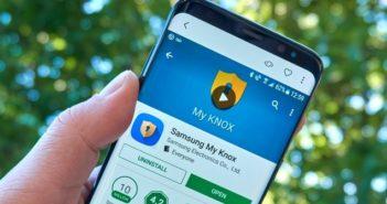 Samsung KNOX deinstallieren. (Foto: shutterstock - dennizn)