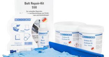 Belt Repair-Kit für Förderbänder (Foto: WEICON)