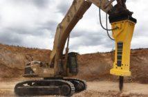 Epiroc Hydraulikhammer HB 7000 DP im Steinbruch (Foto: Construction Tools GmbH)