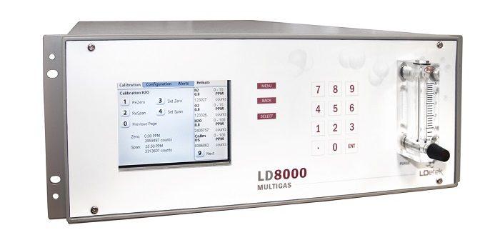 LD8000 MultiGas Gasanalysator für die Überwachung von Inertgas (Foto: Michell)