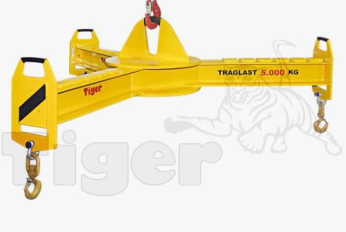 Tiger 3-Arm-Traversen: teleskopierbar, verstellbar und starr (Foto: Kurschildgen)
