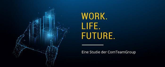 """""""Work.Life.Future."""" - Studie zur Arbeitswelt der Zukunft (Foto: ComTeam AG)"""