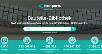 CAD-Content-Plattform: 1.000 Bauteile im Katalog (Foto: TraceParts GmbH)