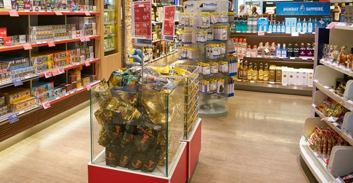 Beispiel für eine Zweitplatzierung von Waren in einer Bodenschütte (Foto: shutterstock – Sorbis)