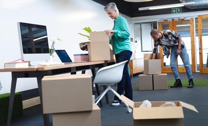 Zieht eine Firma in ein neues Gebäude, dann ist viel Vorbereitung nötig ( Foto: Shutterstock-wavebreakmedia )