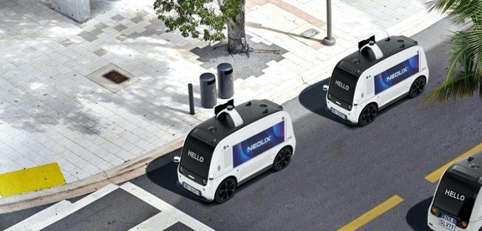 Neolix: Autonomous Delivery im Central-Business-District ( Bildnachweis: NEOLIX )